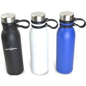 20 Oz. Double Wall Stainless Steel Vacuum Insulated Water Bottle