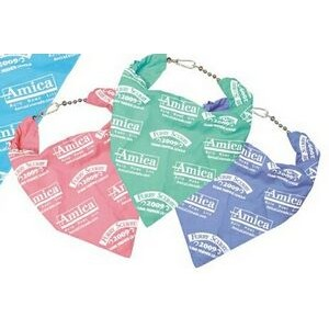 50/50 Poly Cotton Pet Grooming Bandana